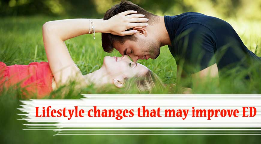 lifestyle changes to improve erectile dysfunction