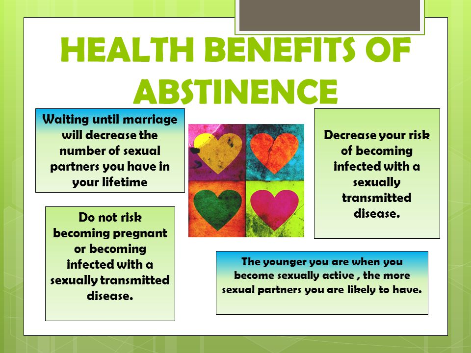 HEALTH+BENEFITS+OF+ABSTINENCE